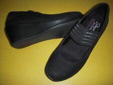 Skechers Rumblers-Space Odyssey Wedge Heel Mary Janes Shoes Women's 6 M Black