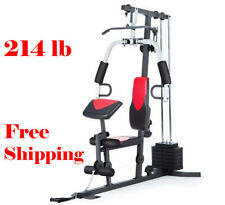 HOME GYM Training Workout Stations Fitness Strength Equipment Exercise Sports