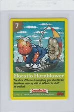 Garbage Pail Kids Horatio Hornblower game card 7 GPK 2005 All New Series 4 ANS4