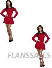 Disfraces de color principal rojo 100% algodón
