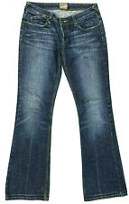 Womens Lee Riders Jeans 'LOW RISE FLARE' Indigo Blue Size 10 W28 L33 RRP $189