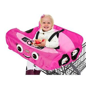 Little Tikes Princess Shopping Cart & High Chair Cover Baby Pink Cozy Car DEALS