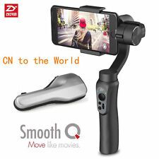 """Offical Zhiyun Smooth-Q 3-Axis Handheld Gimbal Stabilizer for 6"""" phone GoPro5 4"""