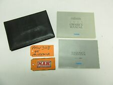 1995 MAZDA MILLENIA OWNERS MANUAL OWNER WARRANTY BOOK GUIDE 96 97 98 99 00 CAR