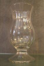 Photophore bougeoir verre cristallin côtelé crystal glass tealight candlestick