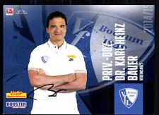 Dr. Karl-Heinz Bauer VFL Bochum 2014-15 Original Signiert + A 85553