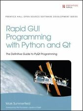 Rapid GUI Programming with Python and Qt (Prentice Hall Open Source Software Dev