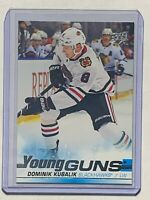 2019-20 UD Upper Deck Dominik Kubalik Rookie RC Young Guns Card Blackhawks Mint