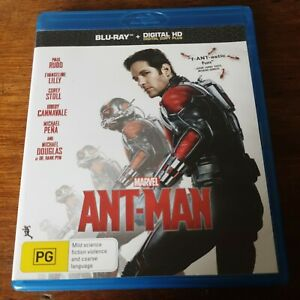 Ant-Man Marvel Blu-Ray LIKE NEW! FREE POST