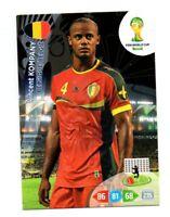 Panini - FIFA Coppa Del Mondo 2014 Brazil - Vincent KOMPANY (Belgium)