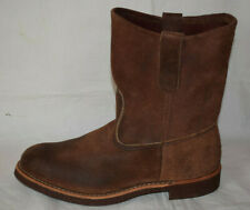 Red Wing 8189 Pecos Suede Engineer Boots UK6.5 Cork Sole Redwing ‏‏Heritage
