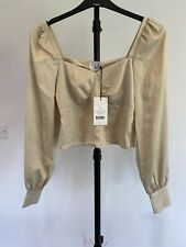 XLE Puff Sleeve Blouse Small