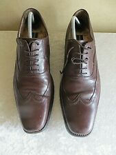 LOAKE BROWN CALF LEATHER FORMAL SHOES SIZE 8.5 /42.5 SNIPE