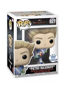 Funko POP Wandavision PIETRO MAXIMOFF #827 Funko Shop Exclusive In Hand