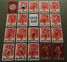 FC Bayern München Team Set 19 Karten Match Attax Bundesliga 2008/ 2009 Topps