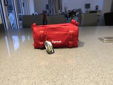 Supreme Mini Duffle Bag Red FW20 BNWT Free P&P