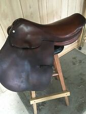 "CROSBY  Style ENGLISH A/P  SADDLE 16"" Average Tree  Made in ENGLAND"