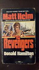 """Donald Hamilton, """"Revengers,"""" 1982, Fawcett 14487-9, VG-, 1st"""