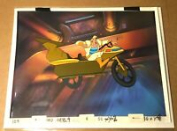 Space Ace (1984) arcade Key Master Production Cel Background Bluth Dragon's Lair