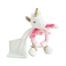 Lucie The Unicorn Rattle With Comforter