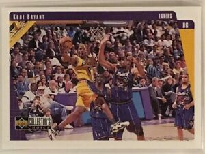 1997-98 Upper Deck Collector's Choice Kobe Bryant Card # 64 Los Angeles Lakers
