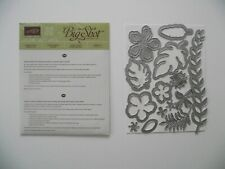 Sizzix, Big Shot for Stampin Up, Framelits Formen Pflanzen Potpourri
