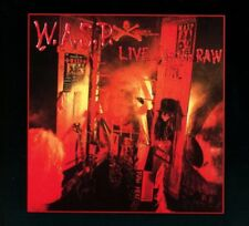W.A.S.P.  Live In The Raw Remastered 4 Extra Tracks DIGIPAK CD NEW