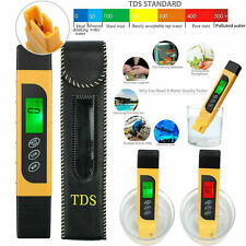 TDS Meter Tester Digital TEMP PPM Meter Drinking Tap Water Quality Purity Tester