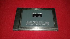 Cisco AIRONET 350 Wireless Wifi LAN Adapter PCMCIA Card
