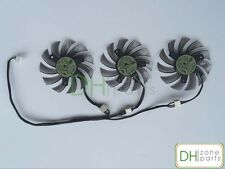 75mm 4-Pin GIGABYTE GTX 670 680 760 770 HD7950 HD7970 Triple Fan Replaced 40mm