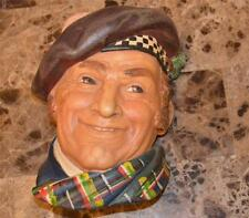 Vintage Legends Products England Chalkware Jock Scot Scottish Highlander Plaque