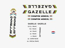 Gazelle Champion Mondial Autocollants Vélo, Transferts, Stickers n.22