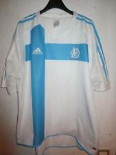 VINTAGE Maillot OM MARSEILLE Adidas sans sponsor rare collector STOCK PRO XL