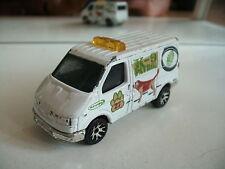 Matchbox Ford Transit K-9 Patrol in White