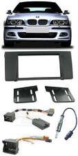 Fits BMW 5 Series E39 complet Stéréo Double DIN Kit de montage