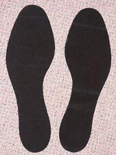 Men's Ladie's Black Suede Replacement Dance Shoe Soles Onesize