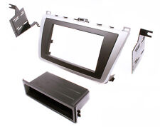 Double DIN/ISO w/Pocket Radio Dash Replacement Mount Kit for 2009-2013 Mazda 6