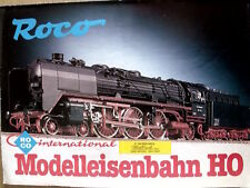 Catalogo ROCO International Modelleisenbahn novità 1980 - DEU - [TR.5]