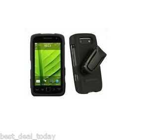 Body Glove Snap On Flex Case Rubber Cover Clip For Blackberry Torch 9860 AT&T