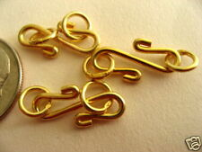 2 Bali Sterling Silver Classic Vermeil S Clasps 17mm
