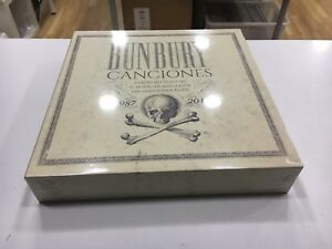 BUNBURY CANCIONES 1987 2017  BOX 8 LP+4 cd+LIBRO 2018 SEALED HEROES DEL SILENCIO