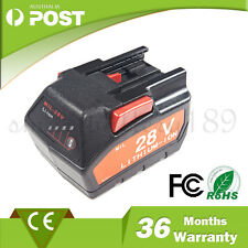 28V 3.0A LITHIUM-ion Battery For Milwaukee M28 V28  48-11-2830 0726 HD28 M28BX