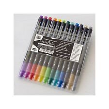Copic Atyou Spica Glitter Pens 12 Piece Colors Set A Letters Cards scrapbookin