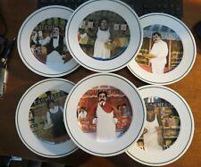 "6 Willams-Sonoma Shopkeeper L'Etalage Luncheon 8"" plates MINT!"
