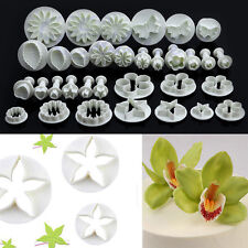 33pcs Pastry Cutters Tools Sugarcraft Cake Decorating Mold Fondant Icing Plunger