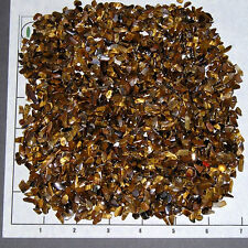 TIGEREYE GOLDEN 4-10mm, tumbled, 1/2 lb xmini bulk Tiger Eye Vitreous