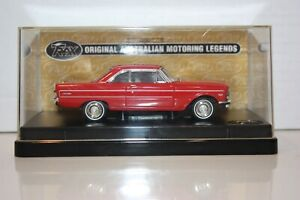 Trax 1:43 Scale Ford XP Futura Hardtop Red Satin  Die Cast Model in Case #TR51