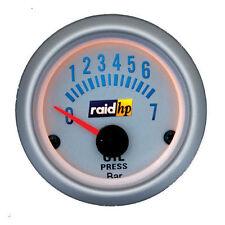 raid hp Zusatz Instrument Silber Öldruckanzeige  Öldruck Messer Geber
