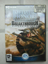 PC CD-ROM Game: MEDAL OF HONOR: ALLIED ASSAULT BREAKTHROUGH EXPANSION PACK