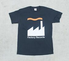 Factory Records Music Record Label Band Tee Tshirt Medium